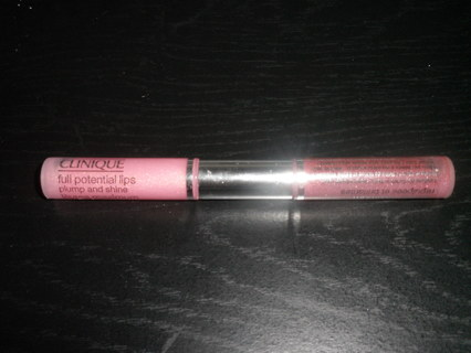Free clinique double sided full potential lips plump and - Gloss and raffles ...