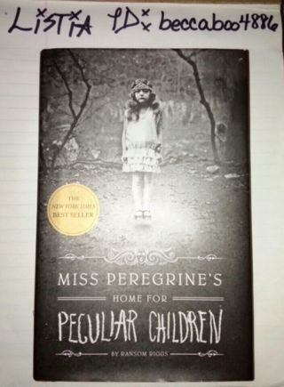 Miss Peregrine's Home For Peculiar Children hardback book by: Ransom Riggs CREEPY