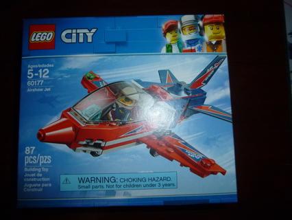 New Lego City Airshow Jet 60177