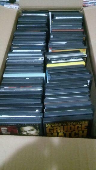(80) Massive DVD Movie Lot. Winner gets all!!