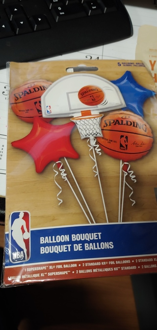 Basket Ball Themed Balloons