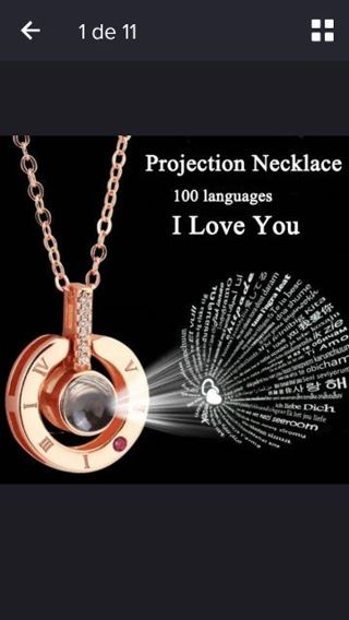 Necklace with special design