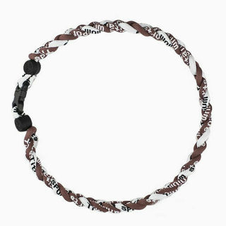 """Fast Delivery - New Titanium Lonic Tornado Sports Baseball Necklace 16"""" 18"""" 20"""" 22"""" 3-rope Braid #1"""