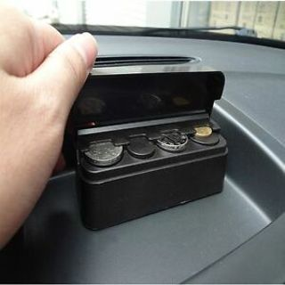 Car Parts Holder Plastic Cases Collecting Box Coin Storage Capsules Holder