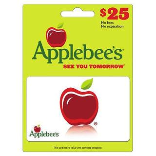 $25.00 Applebee's Gift Card