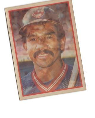 Free 3dhologram Tony Bernazard Baseball Card Sports