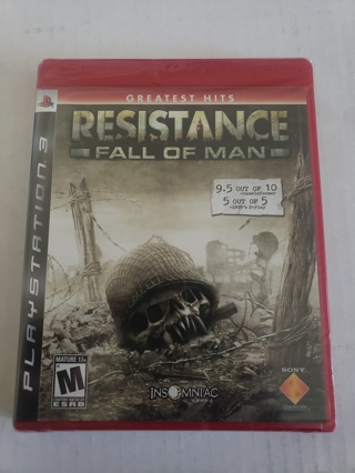 Resistance PS3 game