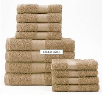 2 SETS - The Big One 12-pc. Bath Towel Value Pack Choice of 11 COLORS FREE SHIPPING!