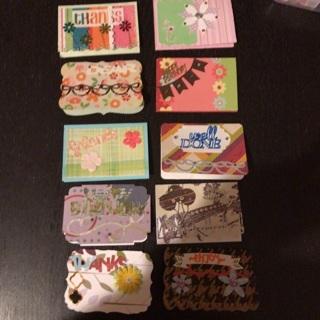 10 Handmade gift cards