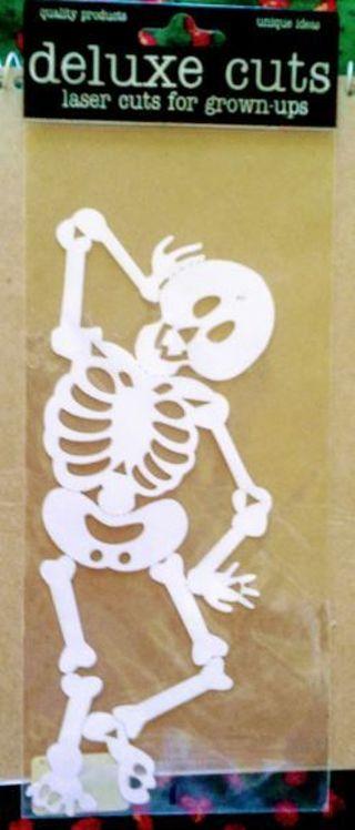 Halloween / Skeleton laser cut *ShipsFREE in US*