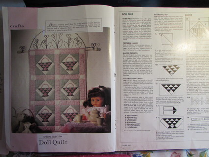 Doll Size Quilt Pattern