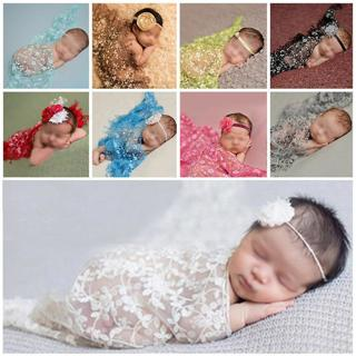 Lovely Newborn Baby Tassel Backdrop Wrap Cloth Prop Outfits Photo Photography