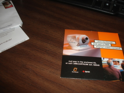 earthlink isp disc, collect it or use it,exc cond.free shipping.