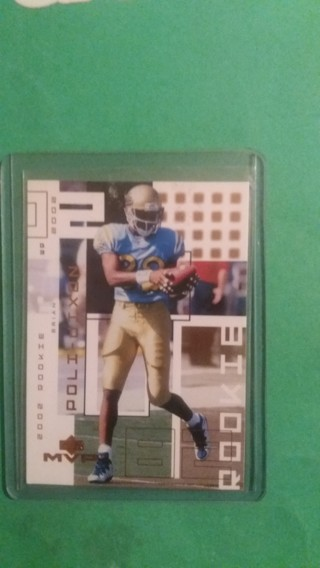 poli-dixon football card free shipping