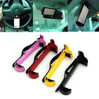 Steering Wheel Cradle Holder Smart Clip Car Mount Bracket for Mobile Phone GPS