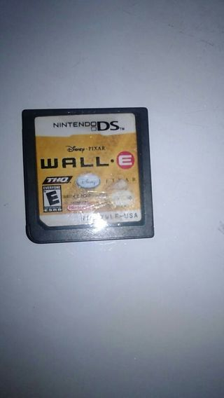 Ds game wall e