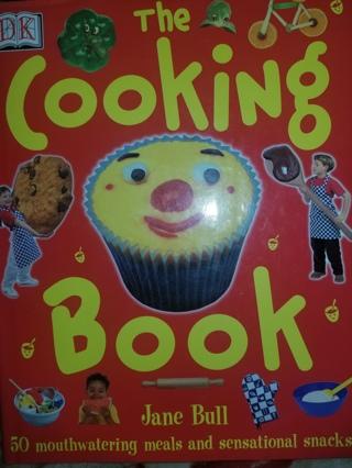 """Home Schoolers Helper """"THE COOKING BOOK"""" Cookbook"""