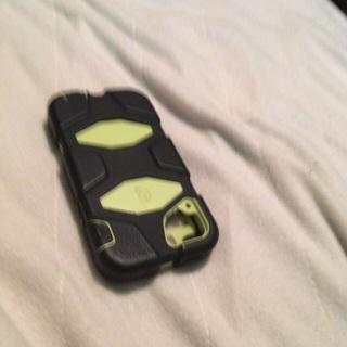 Camera case for I phone 5