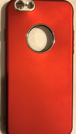 BNWOT Size 6G/6S (4.7)  Cell Phone Case. It is A Vibrant Red Colored Case! Free To Ship