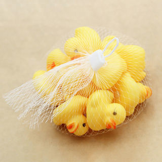 10PC Mini Squeezing Call Rubber BB Duck Ducky Duckie Baby Kids Shower Favors Toy