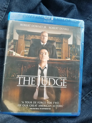 New & Sealed Blu-ray Disc--The Judge Rated R
