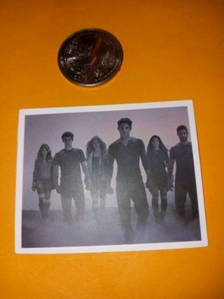 Teen wolf vinyl sticker no refunds regular mail only Very nice I love them all!