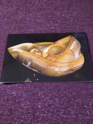 Dale Chihuly Sculpture Card - Tabac Basket Set