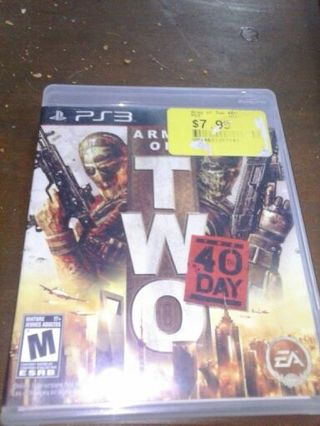 Ps3 army of two 40th day