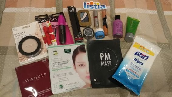 15pc SKINCARE/ MAKEUP BUNDLE
