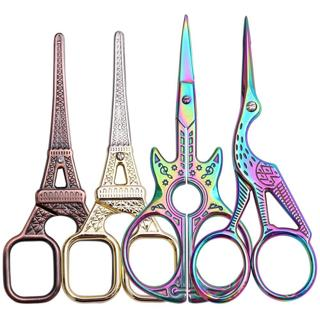 1PC Nail Art Cuticle Scissor Stainless Steel Rainbow Clipper Chameleon Dead Skin Remover Cutter Ma