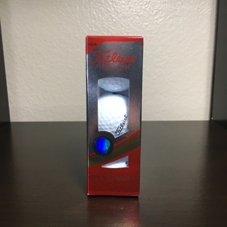 NEW Titleist DT TruSoft Golf Balls Sleeve of 3