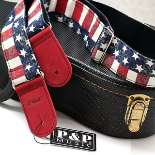 Fast Delivery - New Guitar Strap Nylon Adjustable for Acoustic Electric Bass Retro #1