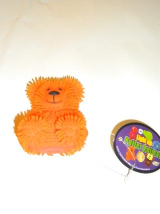 NEW -LIGHT UP PUFFER ANIMAL - TEDDY BEAR .