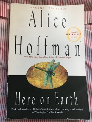 "Alice Hoffman ""Here on Earth"" Fiction Paperback"