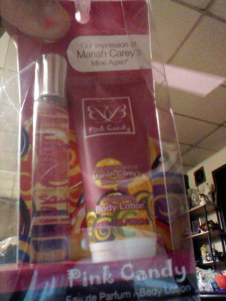 impression mariah carey perfume and lotion