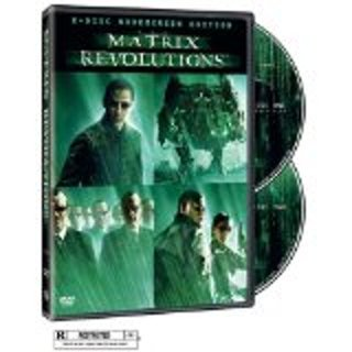 Matrix Revolutions dvd 2 disc widescreen edition
