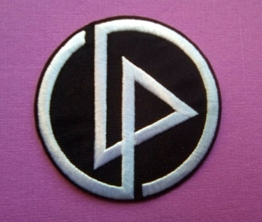 "Linkin Park~LP Logo~Embroidered Patch~2 3/4"" Round~Iron Sew On"
