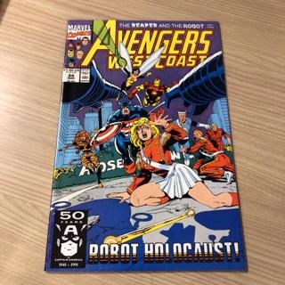 avengers west coast #68  marvel  1991