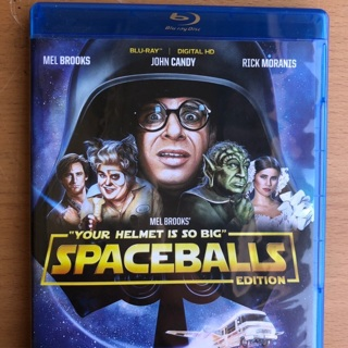Spaceballs on Blu-Ray - like new!