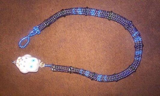 Owl lovers unite!. Handmade bracelet.