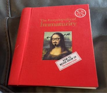 The Encyclopedia of Immaturity Hardback book