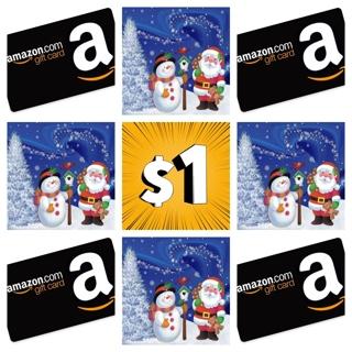 $1.00 !!!!!!!!!!!!!! AMAZON GIFT CARD