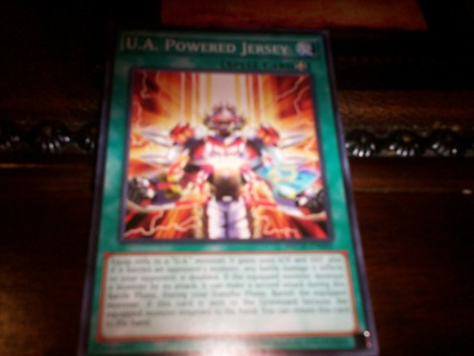 new yu-gi-oh u.a. powered jersey spell card
