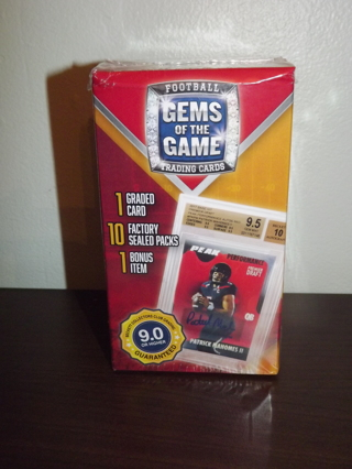 Gems Of The Game Football Trading Cards *NEW/SEALED* Beckett Collector's Club LAST RELIST