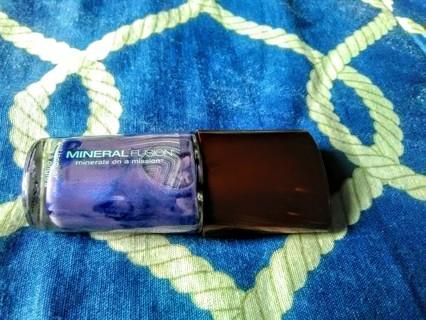 Mineral Fushion Oraganic Nail Polish - 0.33 Fluid ozs - color grotto/ grotte