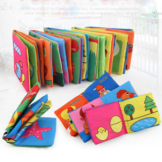 Intelligence Development Cloth Bed Cognize Book Educational Toy