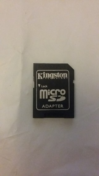 Kingston SD Adapter