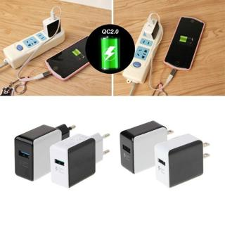 EU/US Plug QC2.0 Fast Charge USB 5V 2.5A Travel Wall Charger Adapter For Samsung