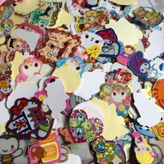 <3 Kawaii Sticker Flakes Mixed Lot Of 50 <3