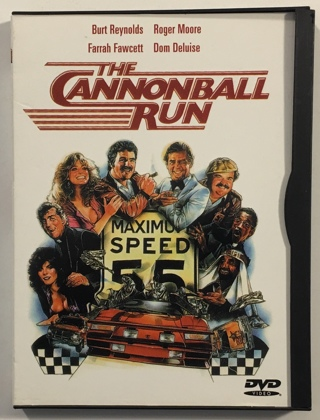 The Cannonball Run DVD Movie with Case (Burt Reynolds, Farrah Fawcett, Roger Moore) - Mint Disc!